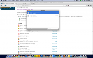 baixar pacote mysql 64 bits (DMG)