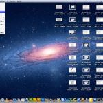 Clicando no menu de preferências do mac